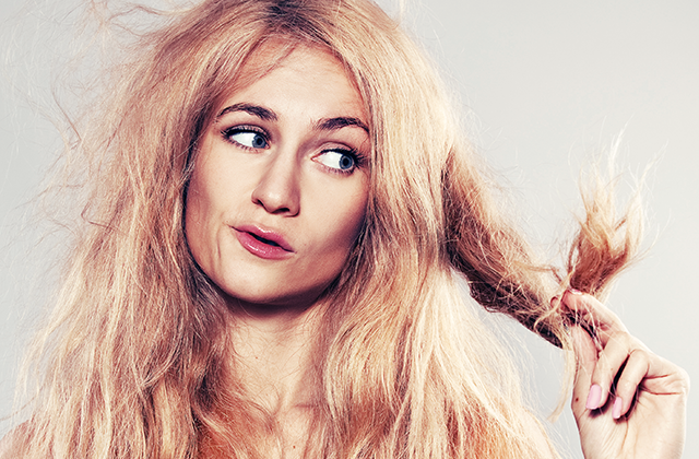 Skilinėjantys plaukų galiukai