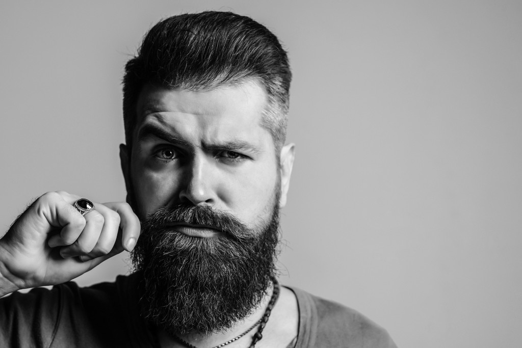 Face,Portrait,Of,Bearded,Man.,Barber,Shop.,Men,Hairstyle,,Beard